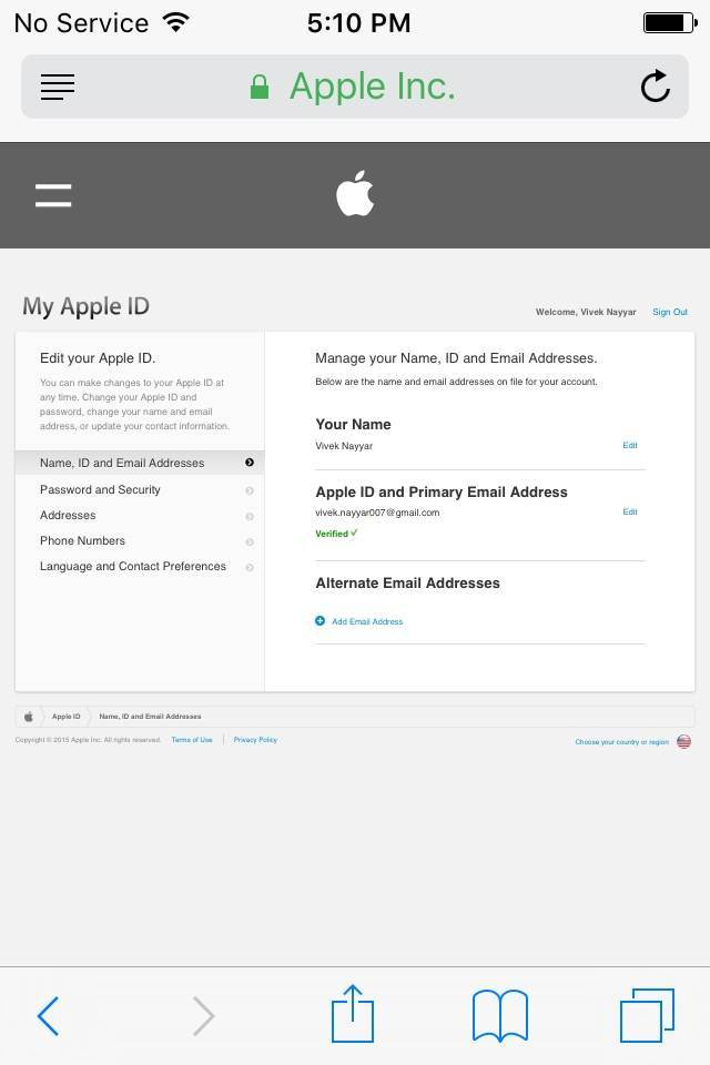 Como Alterar a Senha do seu ID Apple no iPhone