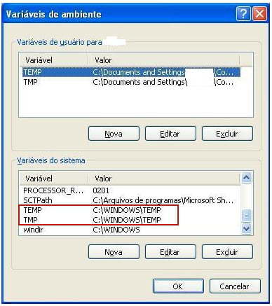Como Alterar a Localização da Pasta Temp no Windows 7