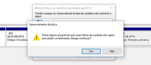Como Alterar a Letra da Partição do Sistema no Windows XP