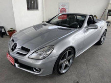 Carros Mercedes-Benz Slk 200 1.6 CGI Advance 16V Turbo Flex 4P Automatico com Trava elétrica